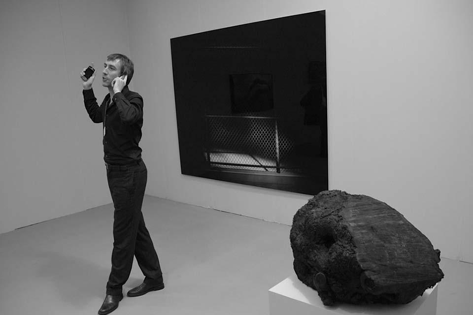 contemporary art collector
