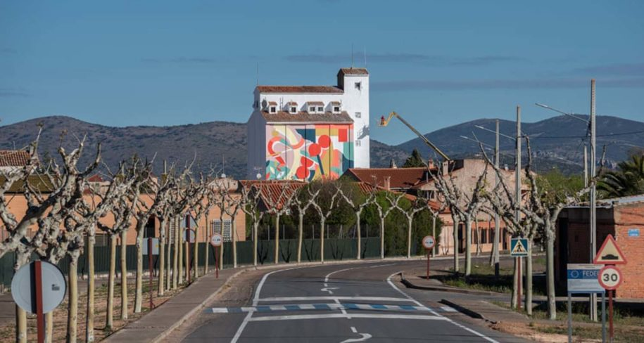 graffiti art project in Spain