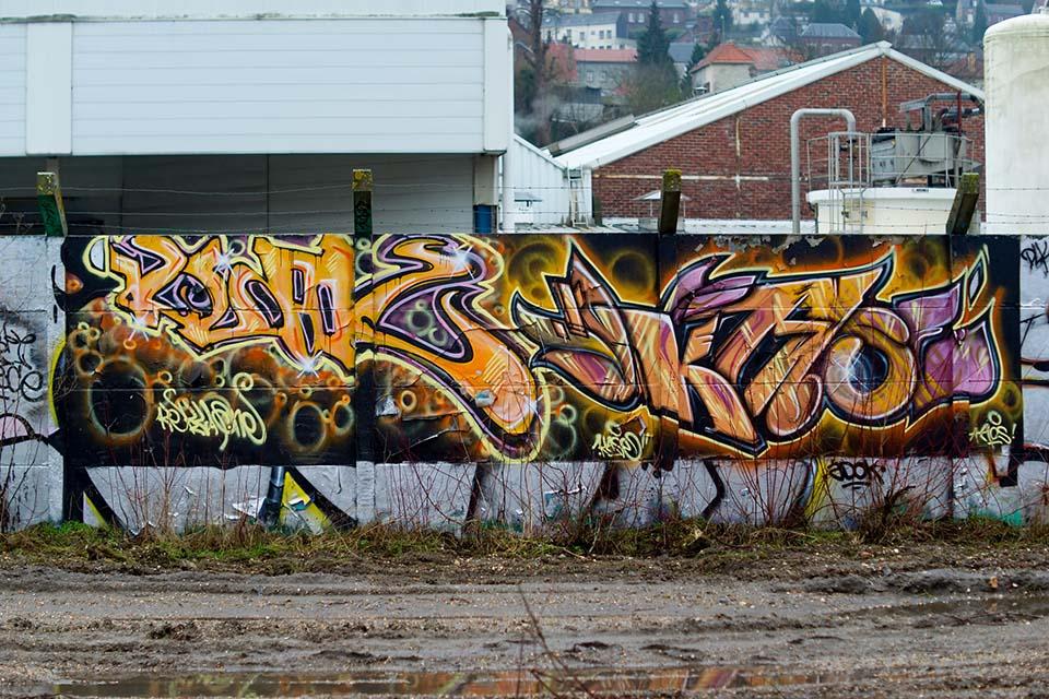 graffiti or street art project