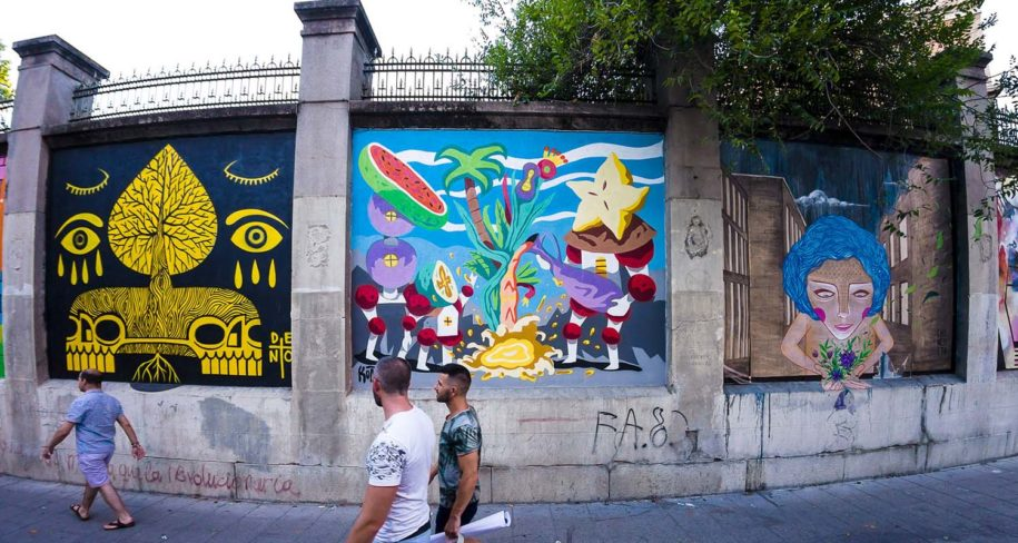 Madrid culture tour around Embajadores area
