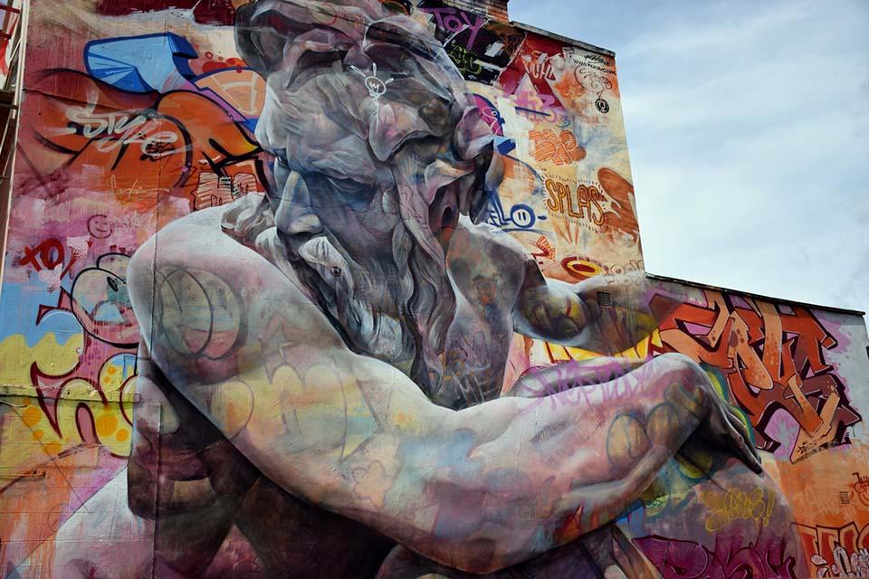 Street art project by Pichiavo
