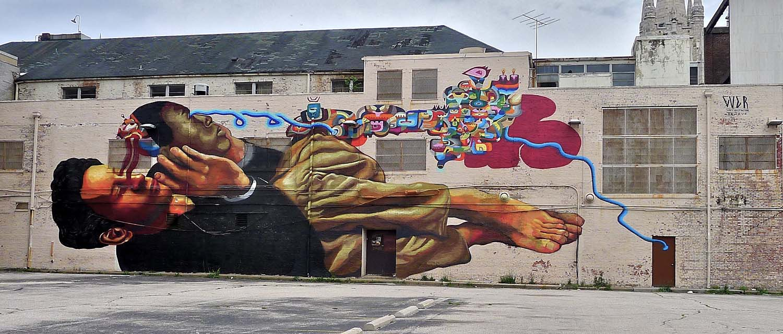 Croissant What's the emergent urban street art scene like over the XXI century? MZ-02