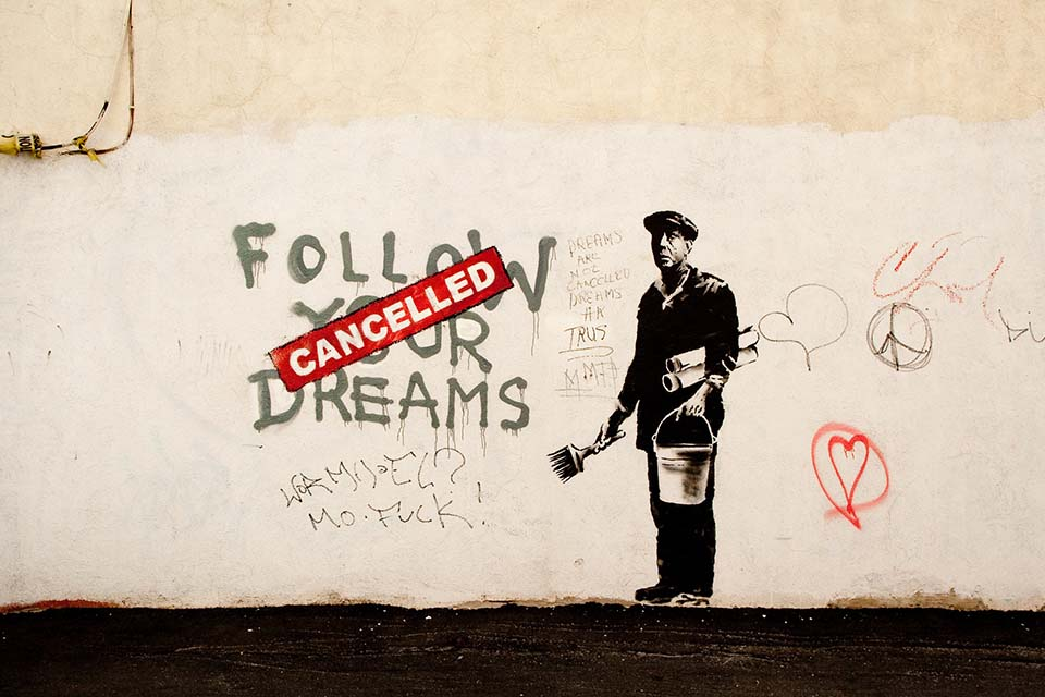 Banksy, the most famous urban artist in the world