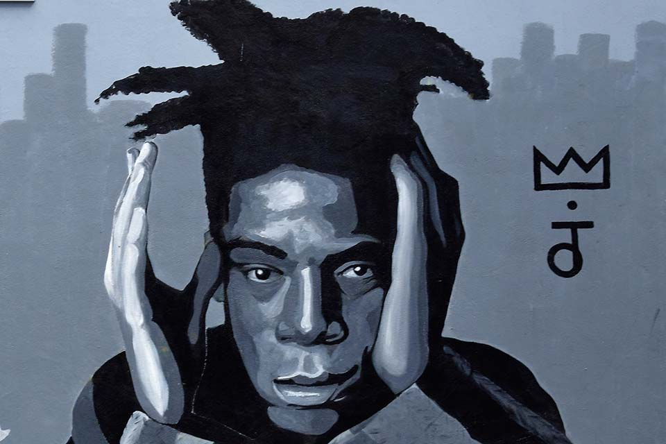 Basquiat's cool street art