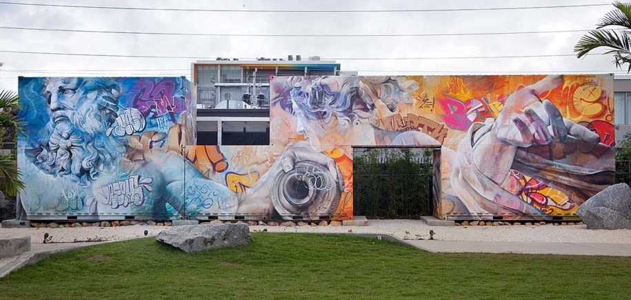 street art painting in Miami