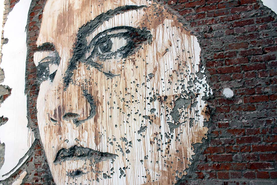 Master technique, Vhils 2011