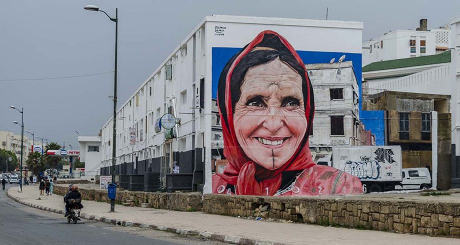 urban art tour in Rabat, Morocco