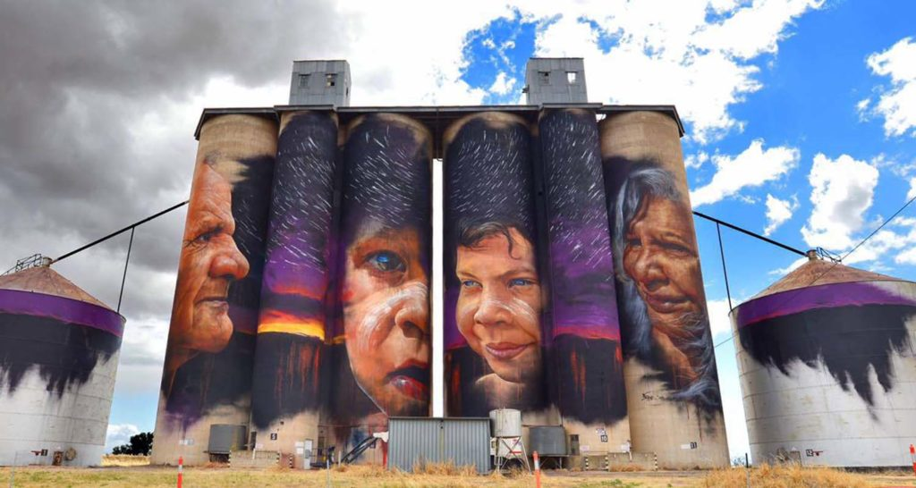 Benalla street art festival