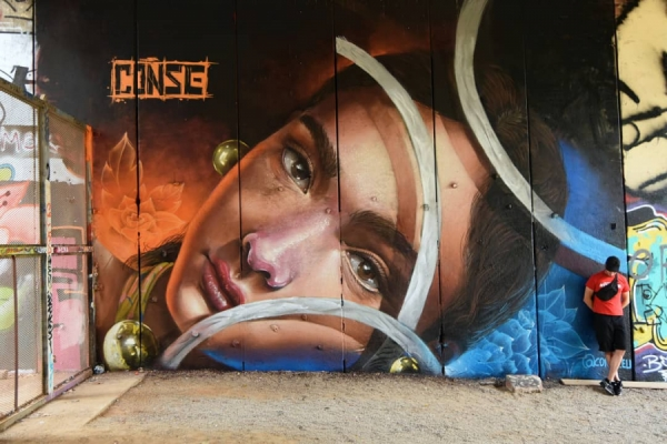 street art graffiti 3D by Conse EU