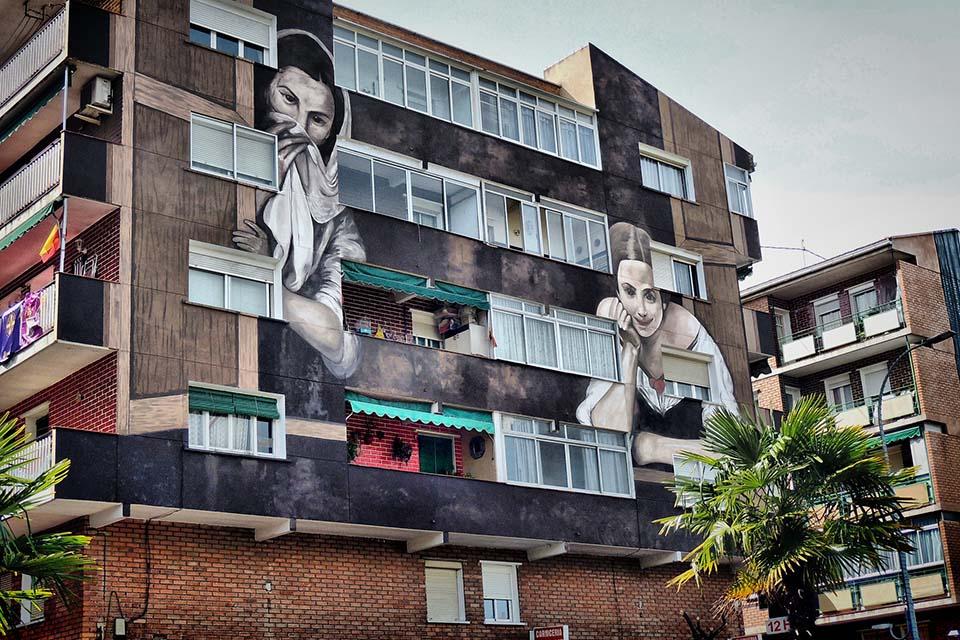 Torrejon de Ardoz urban art