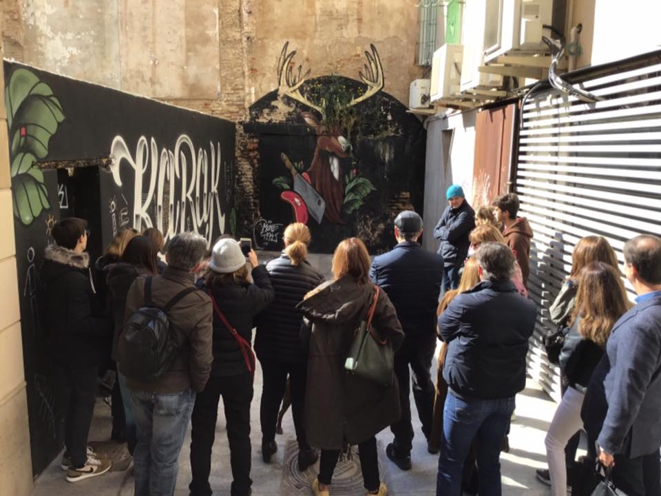street art tours in Valencia