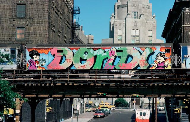 Dondi grafiti New York city