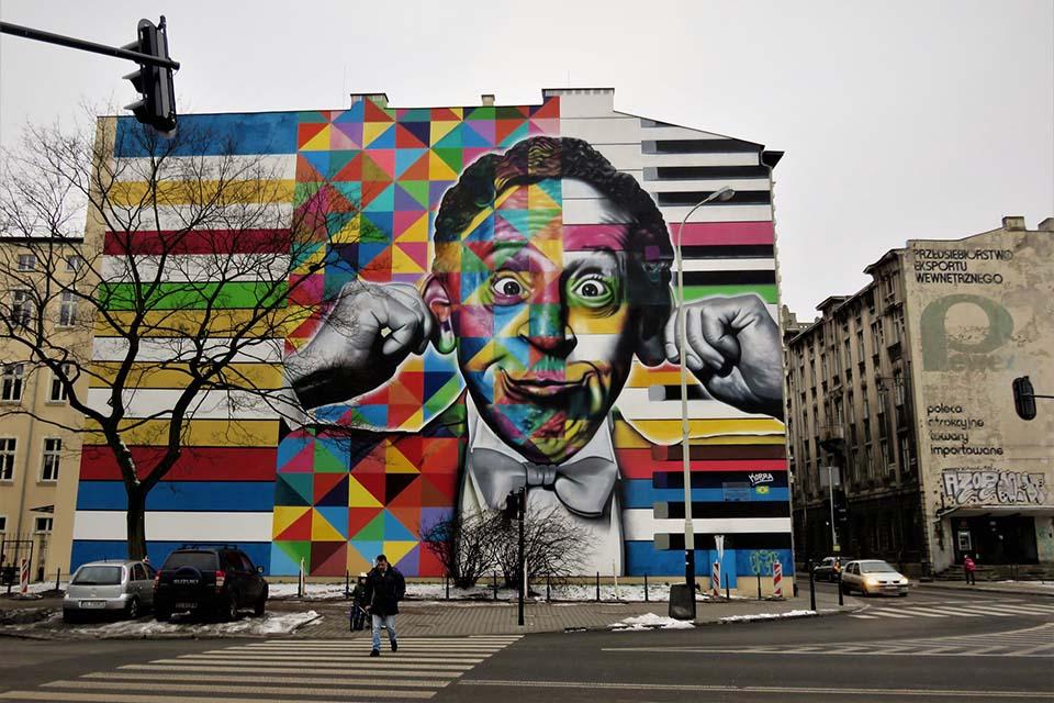 Grafiti by Eduardo Kobra