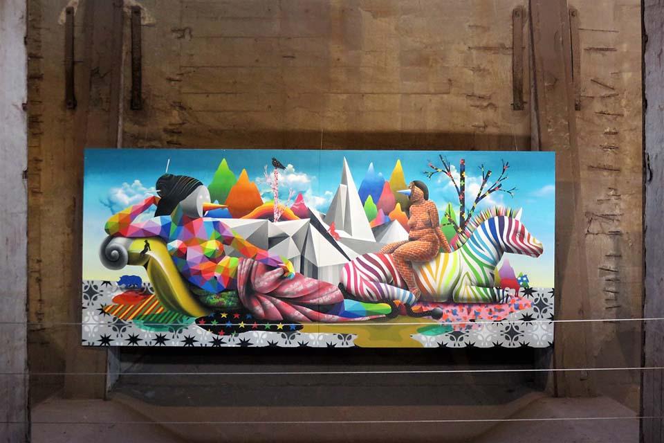 Okuda San Miguel grafiti art