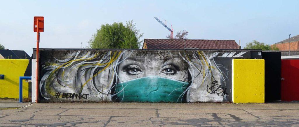 street art definition of CAZ1 / Wetteren