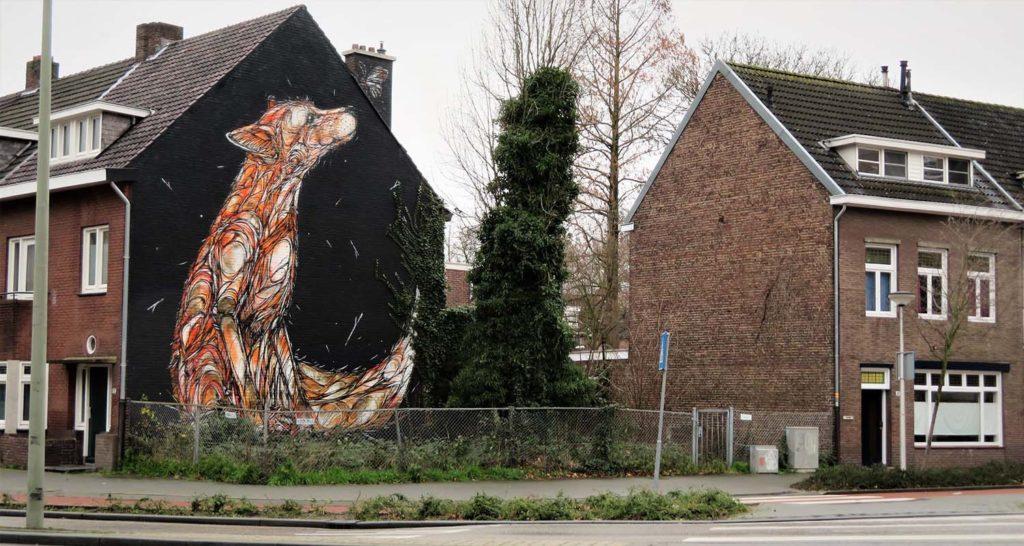 Dzia street art in Heerlen
