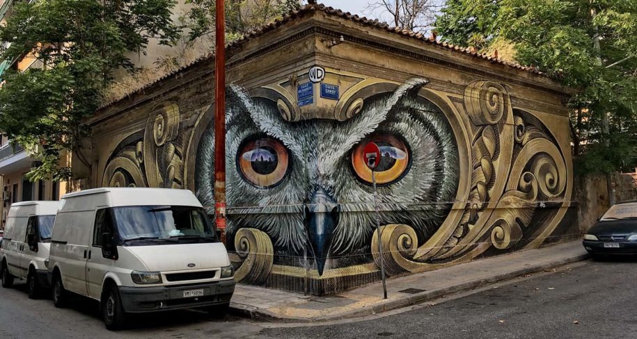 Participate in a street art graffiti tour in European cities