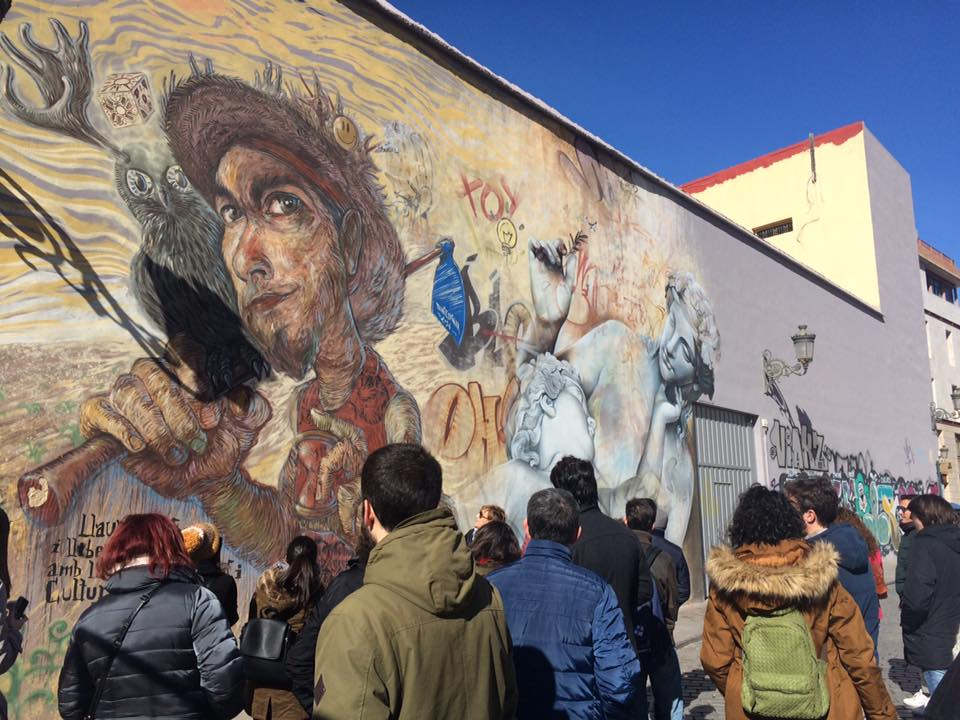 urban art tours in Valencia, Spain