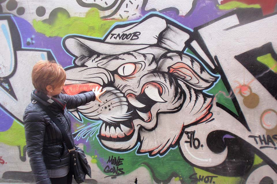 graffiti tours in Valencia