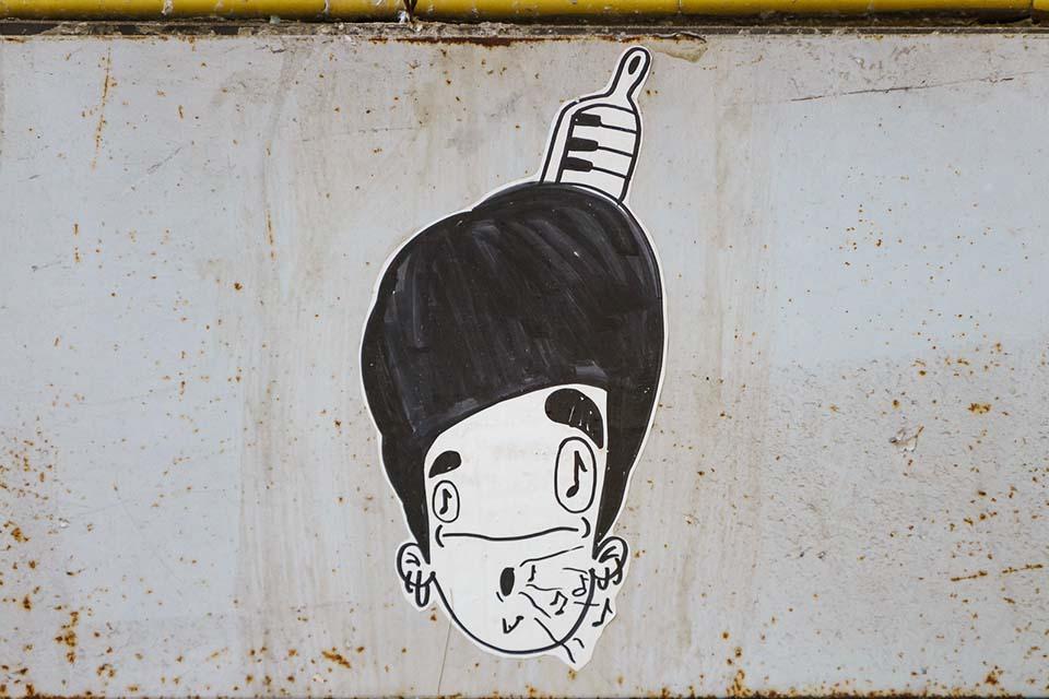 street art paper by Jimbo