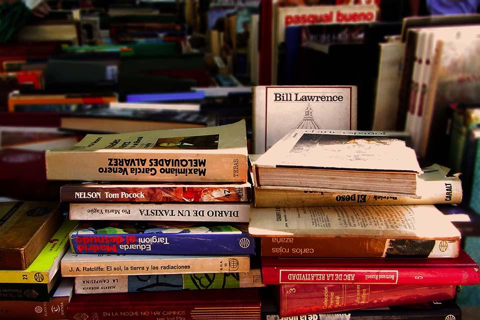 books at El Rastro