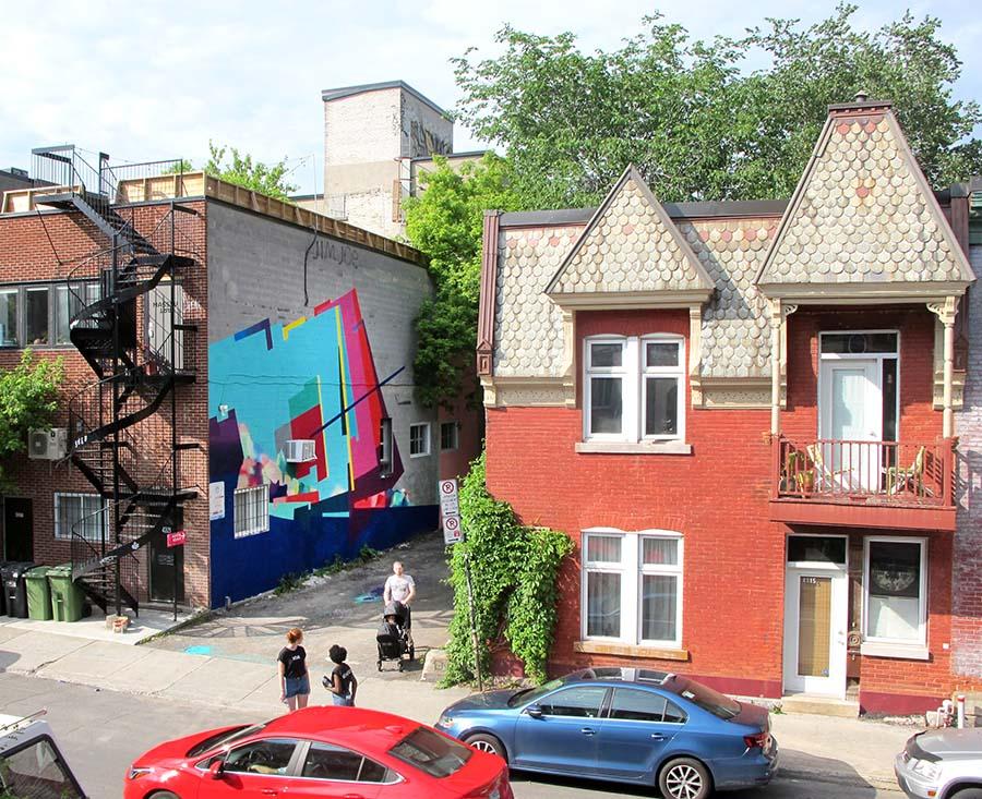 Nuria Mora for Montreal Mural festival