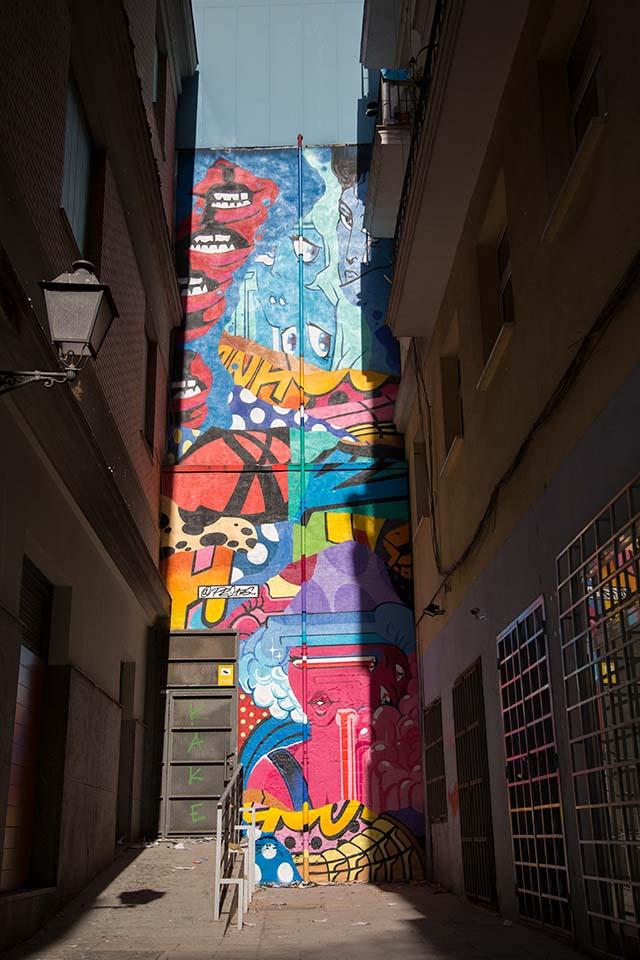Urvanity art walls Madrid
