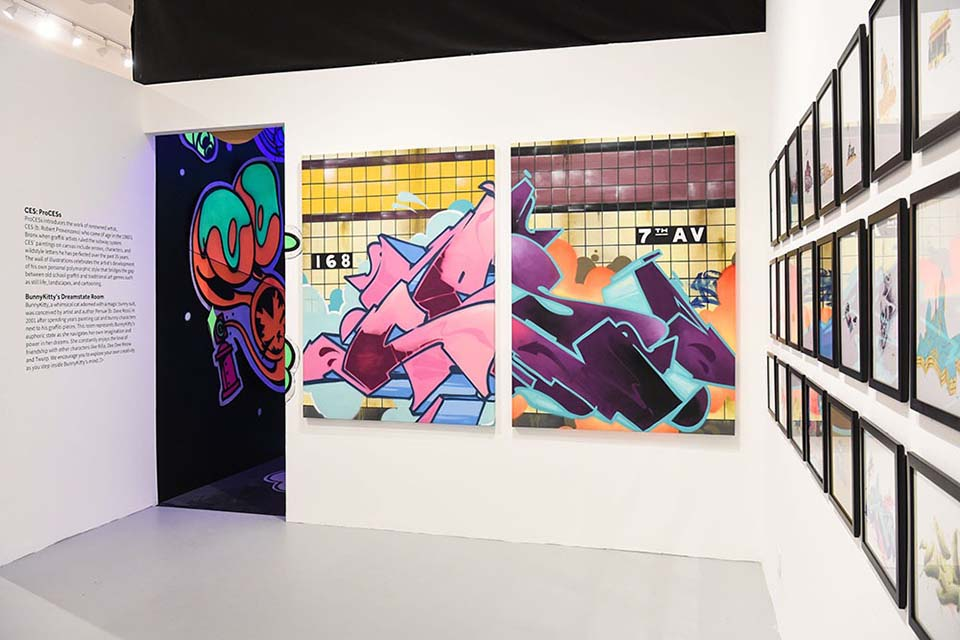 urban graffiti art museum