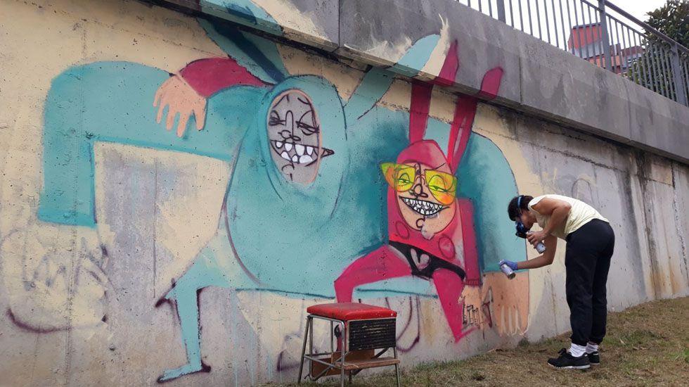 Nikita Rodriguez wall painting