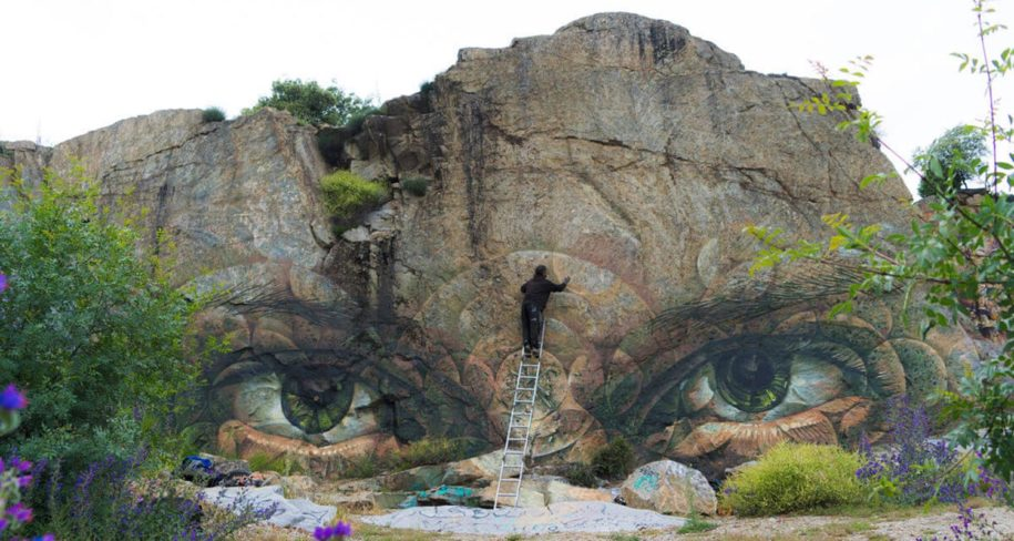 nature street art by Sea162
