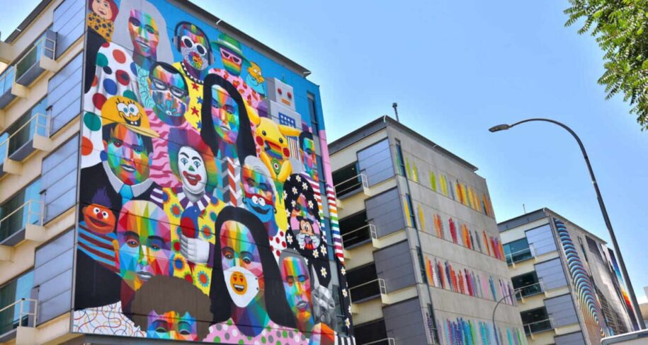 About street art in Madrid