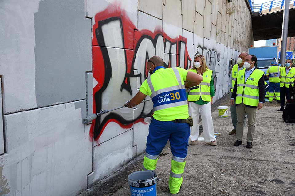 graffiti removal madrid