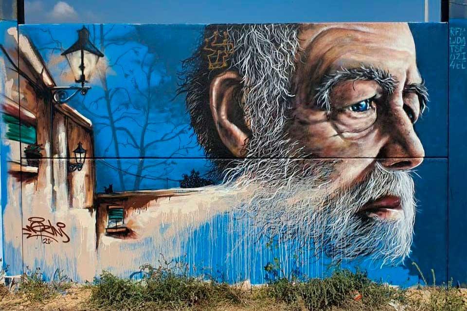 Modern urban art by Nauni