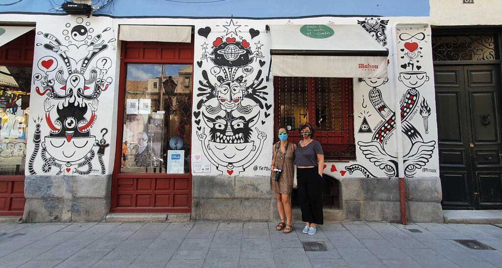 contemporary art walk madrid