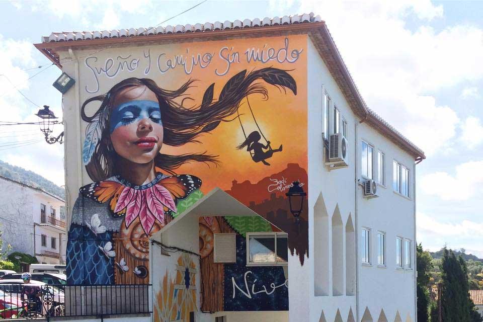 Artwork painted by Badi Coloreando