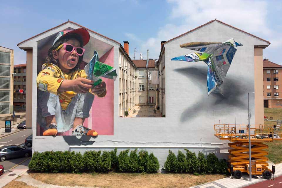 realistic wall murals