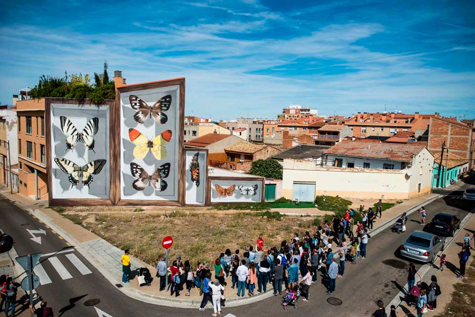 graffiti festival in Spain