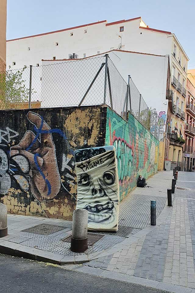 ephemeral art Madrid