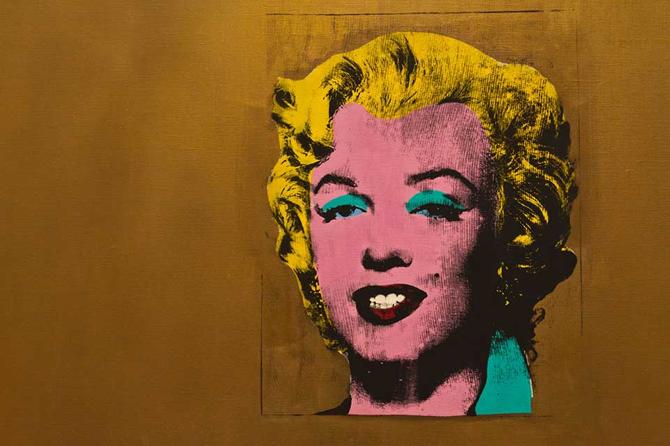 The most famous painting in pop art