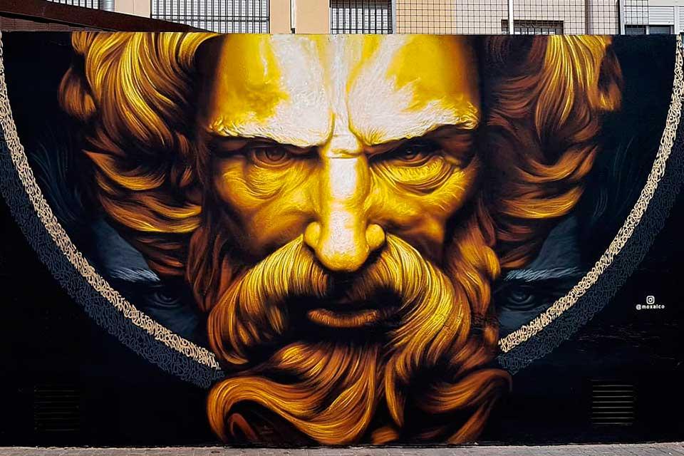 incredible mural graffiti art