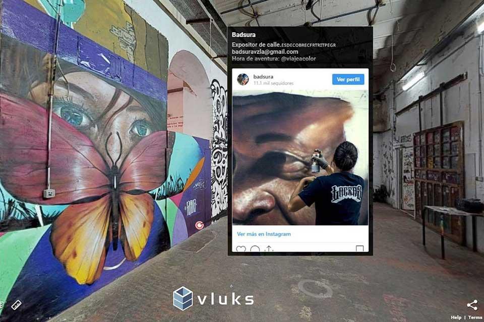virtual street art and graffiti tour Madrid