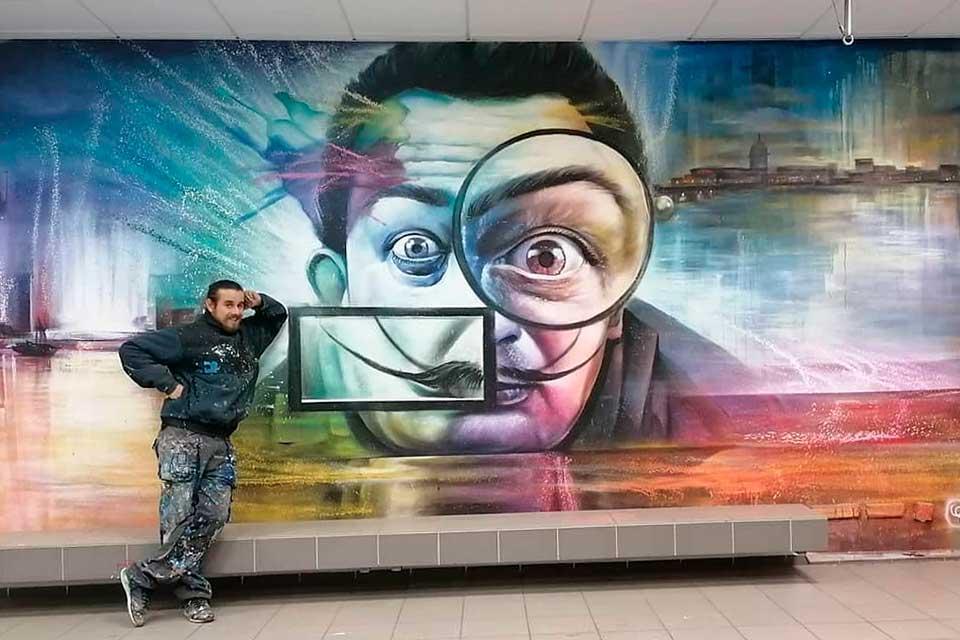 mural art by Sovry