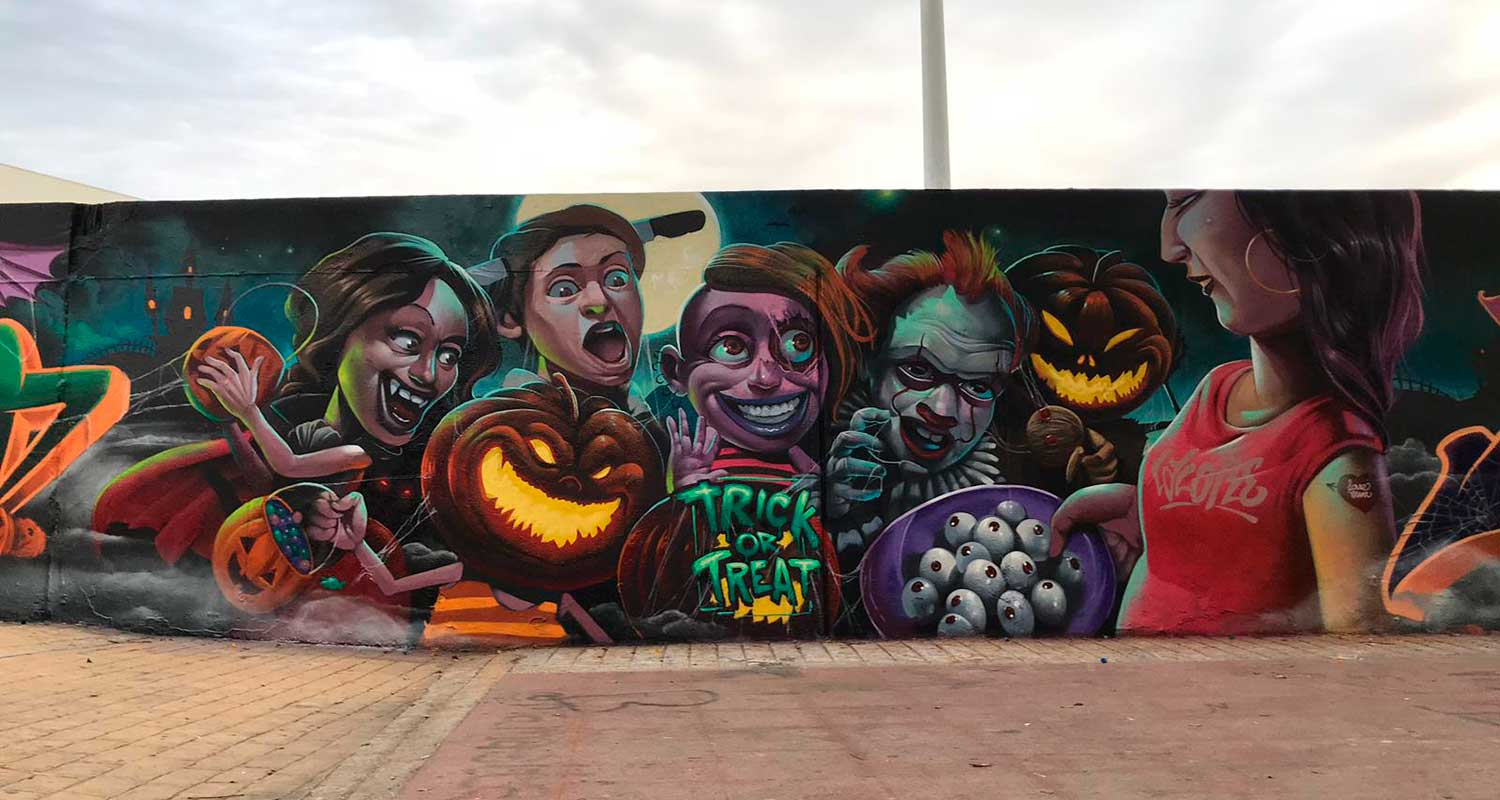 How Is The Urban Mural Art Changing The Landscape Of 5 Spanish Cities