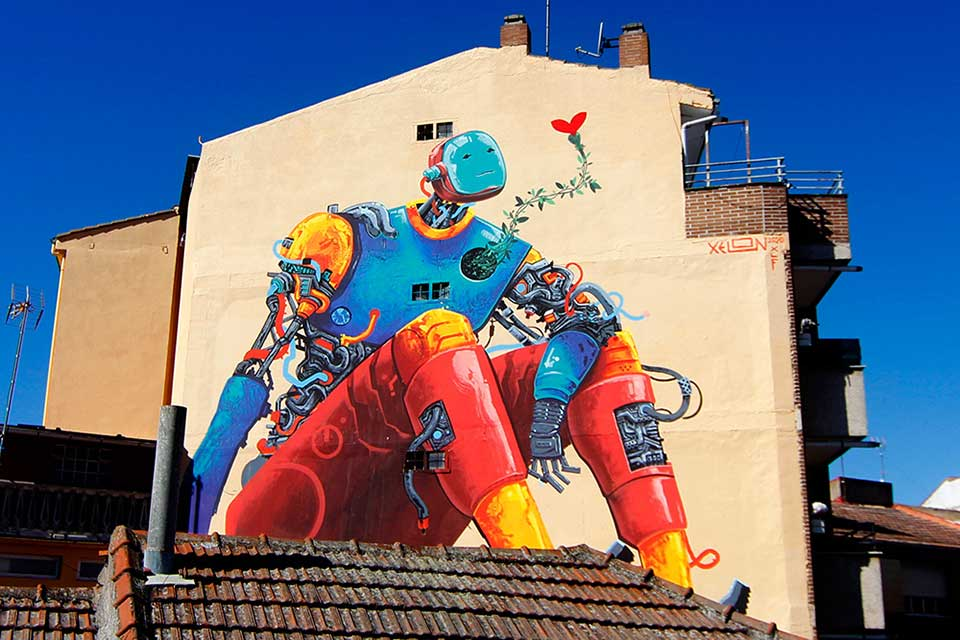 muralism is one of the forms of street art