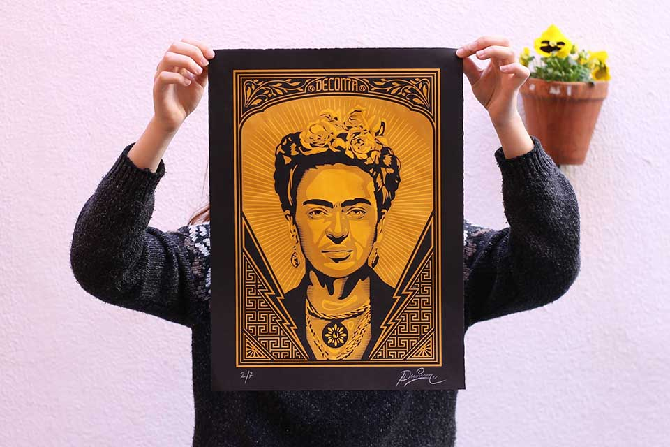 available prints by Spanish street pop art artists