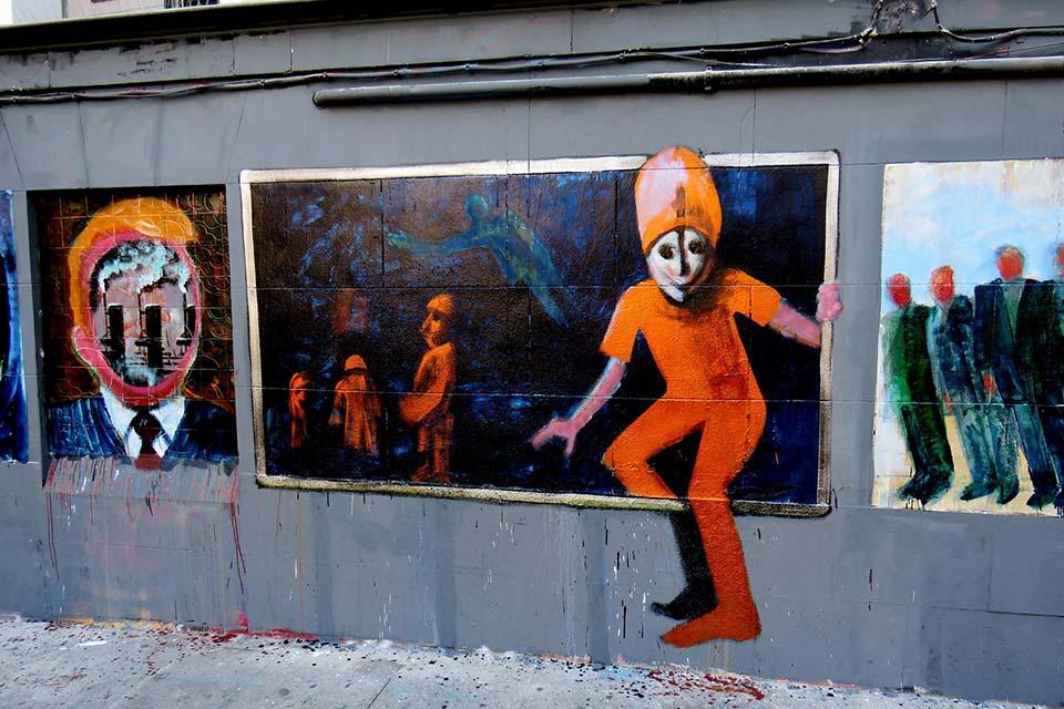 Artworks seen in Malasaña, madrid