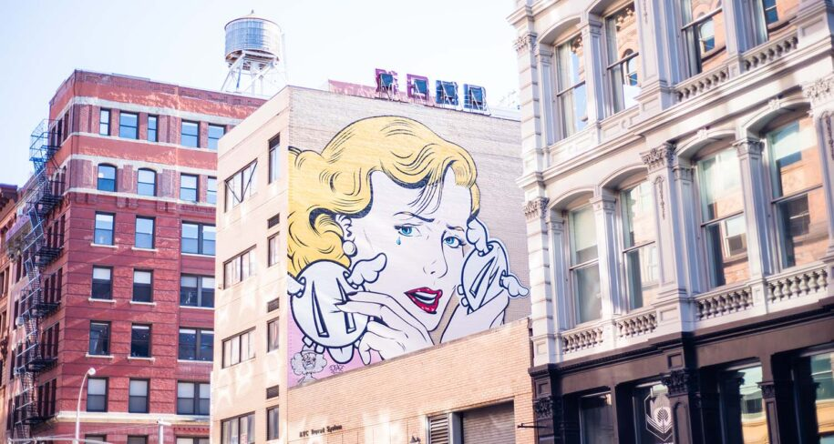 picture in new york about what is street art