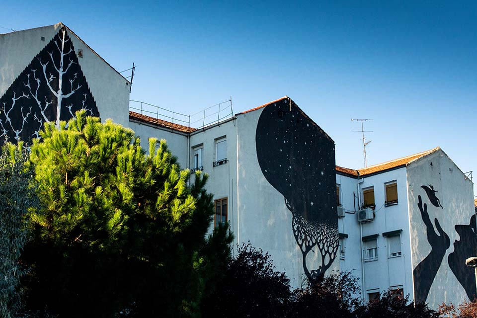 our tour graffiti covers several areas in madrid