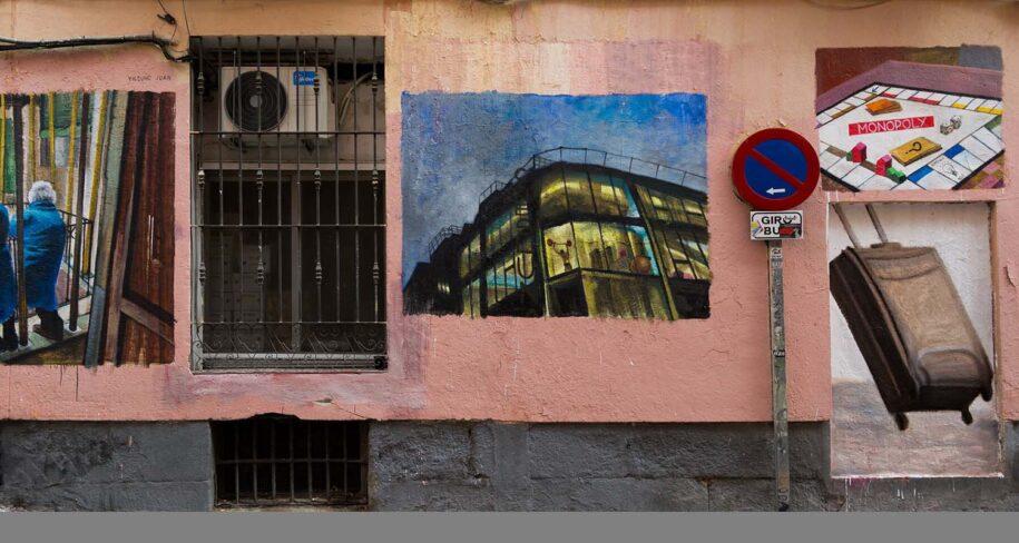 tour graffiti, malasaña madrid